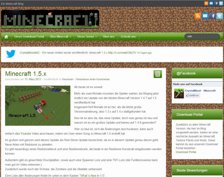 Minecraft – CrystalBlood
